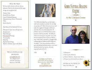 Gibbs brochure